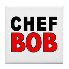 CHEF BOB Tile Coaster
