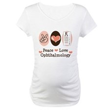 Peace Love Ophthalmology Shirt