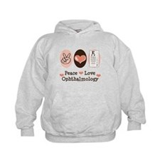 Peace Love Ophthalmology Hoodie