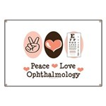 Peace Love Ophthalmology Banner