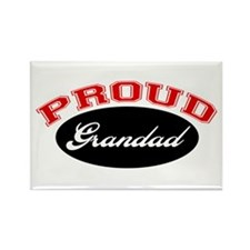 Proud Grandad Rectangle Magnet