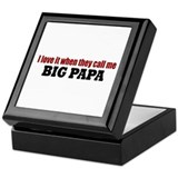 Big Papa Keepsake Box