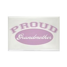 Proud Grandmother Rectangle Magnet (10 pack)