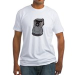 tennis shoe Fitted T-Shirt