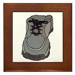 tennis shoe Framed Tile