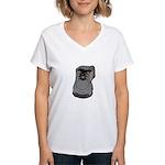 tennis shoe Women's V-Neck T-Shirt