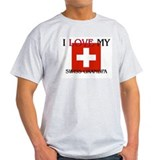 I Love My Swiss Grandpa T-Shirt