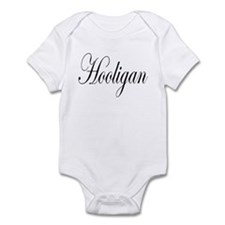 Hooligan black on light Infant Bodysuit