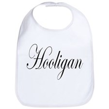 Hooligan black on light Bib