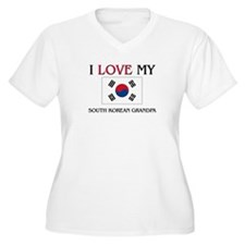 I Love My South Korean Grandpa T-Shirt