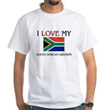 I Love My South African Grandpa Shirt