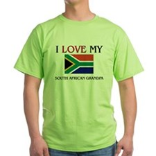 I Love My South African Grandpa T-Shirt