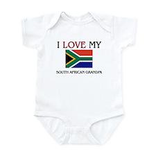 I Love My South African Grandpa Infant Bodysuit