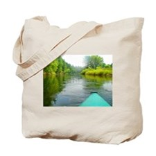 Concord NH Kayaking Tote Bag