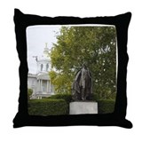 Concord NH Franklin Pierce Throw Pillow
