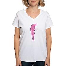 Pink Lightning Bolt Shirt