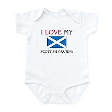 I Love My Scottish Grandpa Infant Bodysuit