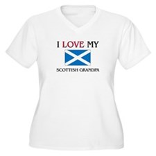 I Love My Scottish Grandpa T-Shirt
