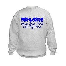 PlayDate - Blue Sweatshirt