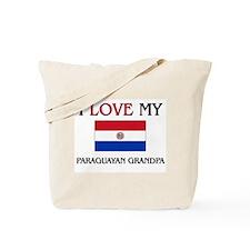 I Love My Paraguayan Grandpa Tote Bag