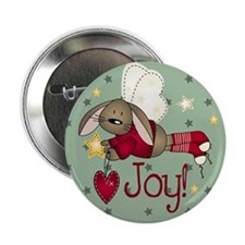 "Angel Bunny 2.25"" Button (10 pack)"