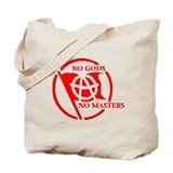 NO GODS - NO MASTERS Tote Bag