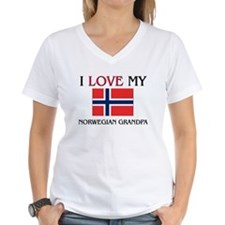I Love My Norwegian Grandpa Shirt