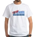 Stop Sign White T-Shirt