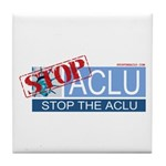 Stop Sign Tile Coaster