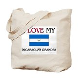 I Love My Nicaraguan Grandpa Tote Bag