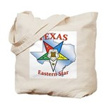 Texas Eastern Star Tote Bag