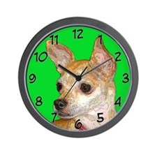Pop Chihuahua Wall Clock