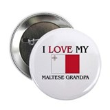 "I Love My Maltese Grandpa 2.25"" Button"
