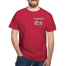 Norwegian Buhund Dad T-Shirt