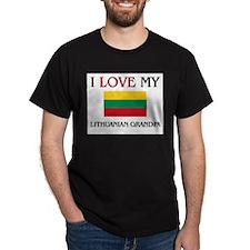 I Love My Lithuanian Grandpa T-Shirt