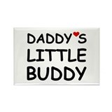 DADDY'S LITTLE BUDDY Rectangle Magnet