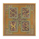 Kells Tapestry Tile Coaster