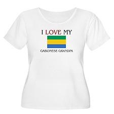 I Love My Gabonese Grandpa T-Shirt