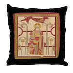 Clonmacnoise Throw Pillow
