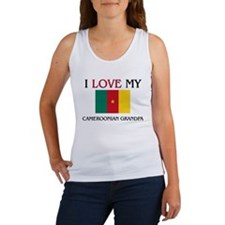 I Love My Cameroonian Grandpa Women's Tank Top