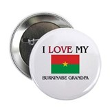 "I Love My Burkinabe Grandpa 2.25"" Button (10 pack)"