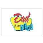 Dad of the Year Large Poster