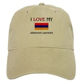 I Love My Armenian Grandpa Baseball Cap