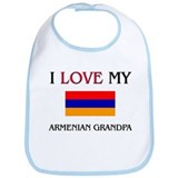I Love My Armenian Grandpa Bib