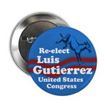 Luis Gutierrez for Congress campaign button