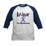Purple Ribbon Mommy Tee