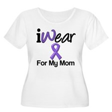Purple Ribbon Mom T-Shirt