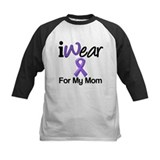 Purple Ribbon Mom Tee