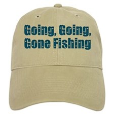 Going Fishing Baseball Cap