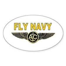 US Navy Aircrew Oval Decal